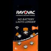 Bild: RAYOVAC Hörgerätebatterien Typ 13