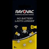 Bild: RAYOVAC Hörgerätebatterien Typ 10