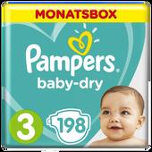 Bild: Pampers Baby Dry Gr.3 Midi 6-10kg MonatsBox