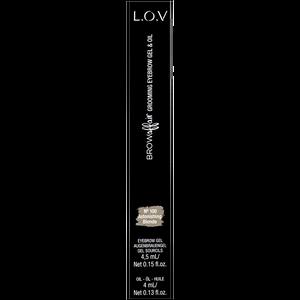 Bild: L.O.V BROWAFFAIR Grooming Eyebrow Gel & Oil 100 astorishing blonde