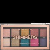 Bild: profusion cosmetics Shimmers 10 Shade Eyeshadow Palette