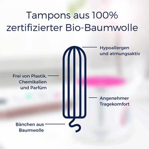 Bild: ovy organische Tampons