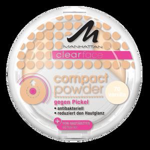 Bild: MANHATTAN Clearface Compact Powder vanilla