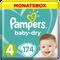 Bild: Pampers Baby Dry Gr.4 Maxi 9-14kg MonatsBox