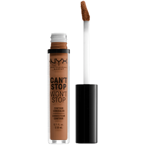 Bild: NYX Professional Make-up Can't Stop Won't Stop Concealer warm caramel