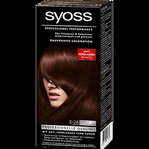 Bild: syoss PROFESSIONAL dauerhafte Coloration dunkle schokolade
