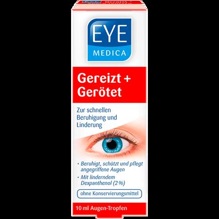 EyeMedica Augentropfen Gereizt + Gerötet
