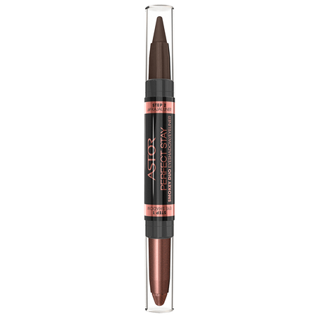 ASTOR Perfect Stay Smokey Duo Eye Shadow Eyeliner