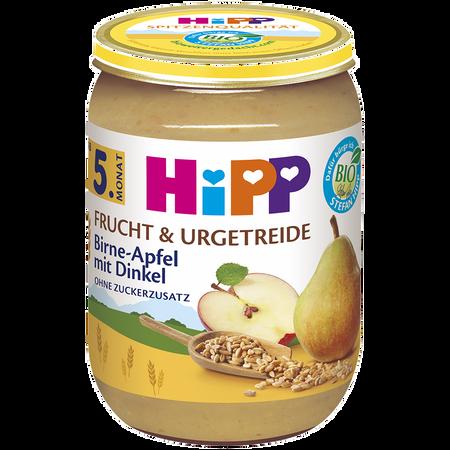 HiPP Birne in Apfel mit Dinkel