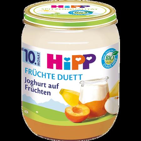 HiPP Früchte Duett Joghurt auf Früchten