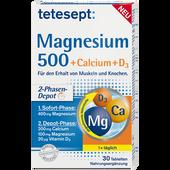 Bild: tetesept: Magnesium 500 + Calcium + D3 Tabletten