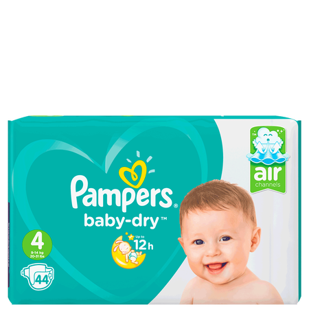 Pampers Baby-Dry Gr. 4 (9-14kg) Value Pack