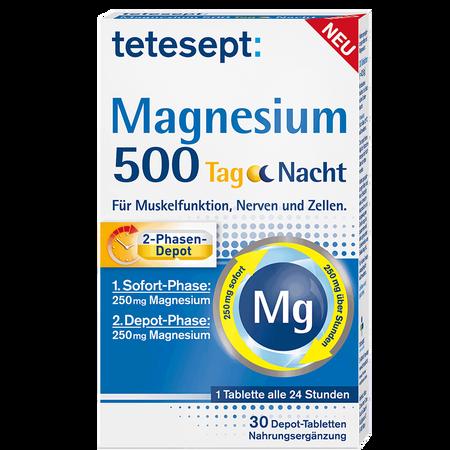 tetesept: Magnesium 500 Tag Nacht Depot-Tabletten