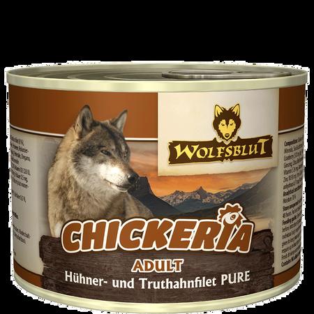 Wolfsblut Chickeria Adult Pure/Hühnerfilet Truthahn