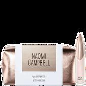 Bild: Naomi Campbell  Eau de Toilette (EdT) + gratis Kosmetiktasche