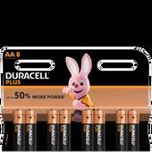 Bild: DURACELL Plus Mignon AA K8 Batterien