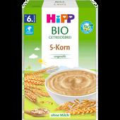 Bild: HiPP Bio Getreidebrei 5-Korn