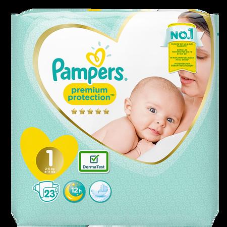 Pampers Premium Protection Newborn Gr. 1 (2-5kg)