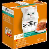 Bild: GOURMET Gold Raffiniertes Ragout Fleisch und Geflügel