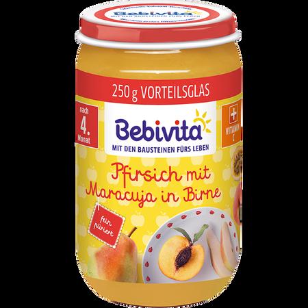 Bebivita Pfirsich mit Maracuja in Birne
