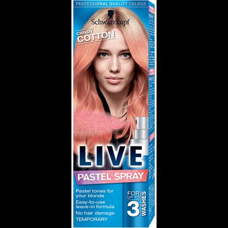 Schwarzkopf LIVE Pastelspray Cotton Candy