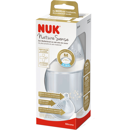 NUK Nature Sense Babyflasche