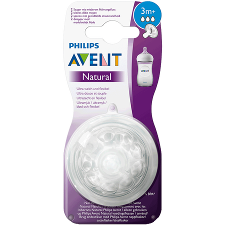 PHILIPS AVENT Sauger Naturnah, 3 Monate+