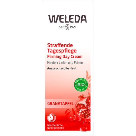 WELEDA Straffende Tagespflege Granatapfel