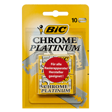 BIC Chrome Platinum Rasierklingen