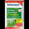 Bild: tetesept: Gingko Ginseng+ B-Vitamine Filmtabletten