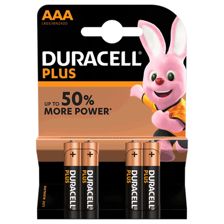 DURACELL PLUS Micro 1,5 Volt AAA