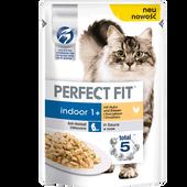 Bild: PERFECT FIT Indoor 1+ mit Huhn und Erbsen in Sauce