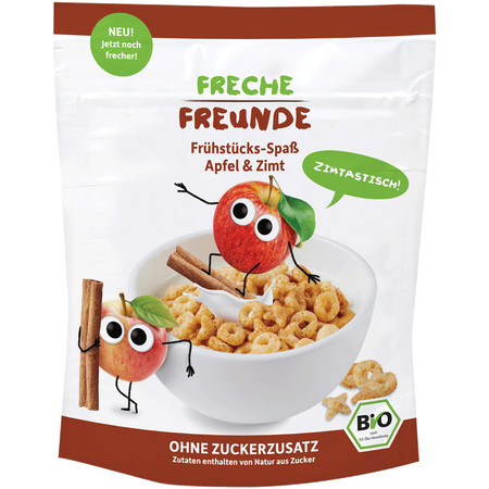 Freche Freunde Frühstücks-Spaß Apfel & Zimt