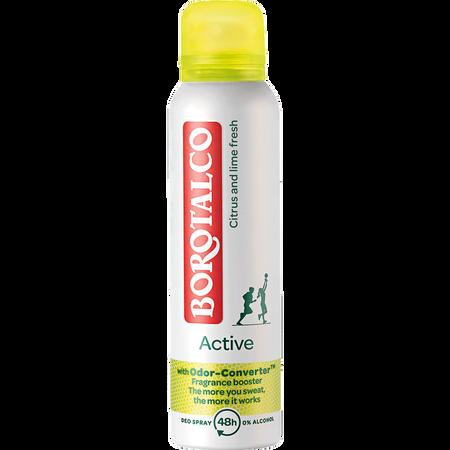 BOROTALCO Active Citrus & Lime Fresh Deospray