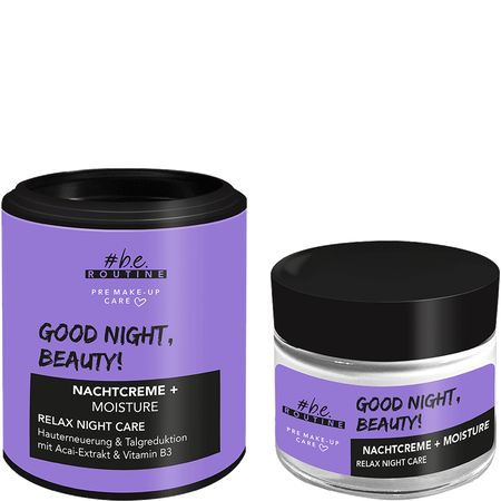 b.e. ROUTINE Good Night, Beauty! Nachtcreme + Moisture