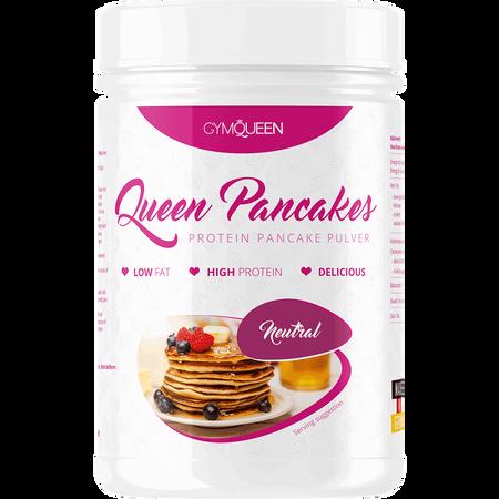 Bild: GYMQUEEN Queen Pancakes Protein Pancake Pulver Neutral  GYMQUEEN Queen Pancakes Protein Pancake Pulver Neutral
