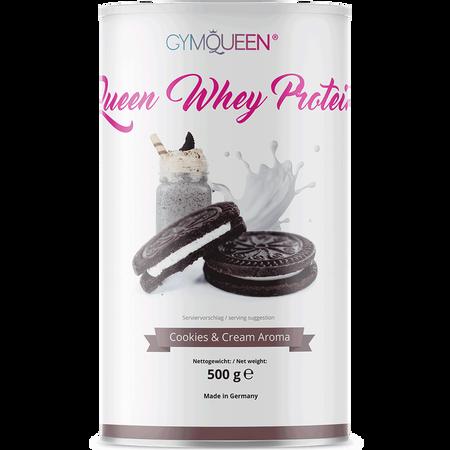 GYMQUEEN Queen Whey Protein Cookies & Cream Aroma