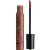 Bild: NYX Professional Make-up Liquid Suede Cream Lipstick sandstorm