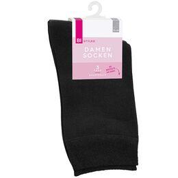 Bild: BI STYLED Damen Socken Baumwolle schwarz
