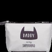 Bild: LOOK BY BIPA Kosmetiktasche 'Daddy is my Superhero'