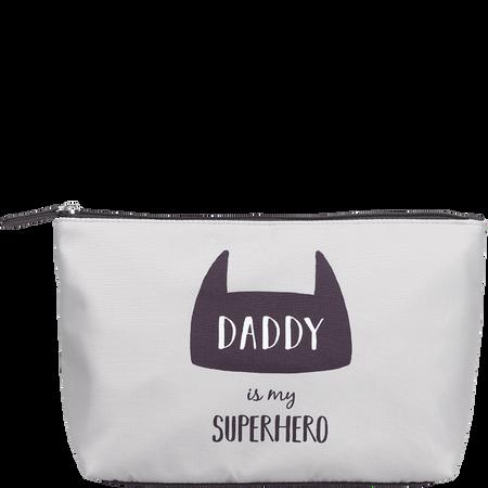 LOOK BY BIPA Kosmetiktasche 'Daddy is my Superhero'