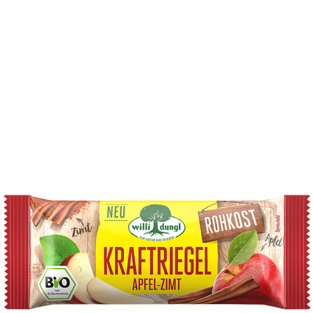 Willi Dungl Kraftriegel Apfel-Zimt