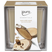 Bild: ipuro Duftkerze Essentials Cedar Wood