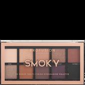 Bild: profusion cosmetics Smoky 10 Shade Multi-Finish Eyeshadow Palette