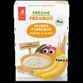 Bild: Freche Freunde Bio Feines Porridge Banane & Mango