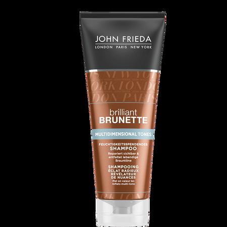 JOHN FRIEDA brilliant Brunette Brunette Multidimensional Tones Feuchtigkeitsspendendes Shampoo