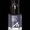 Bild: MANHATTAN Super Gel Nail Polish gray matter