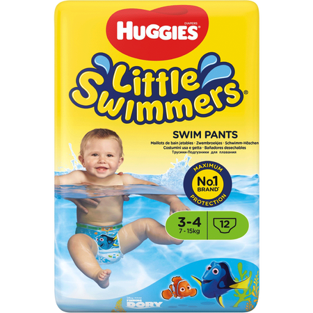 HUGGIES Little Swimmers Schwimmwindeln Gr. 3-4