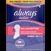 Bild: always dailies twist & flex Slipeinlagen Soft like Cotton Normal BigPack/Vorteilspack