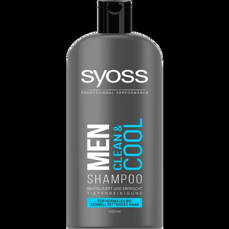syoss PROFESSIONAL Shampoo Men Clean & Cool